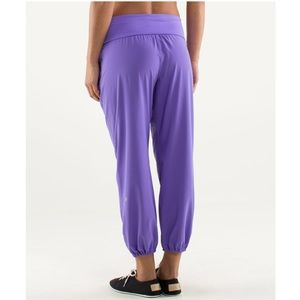 Lululemon Om Pant- Power Purple